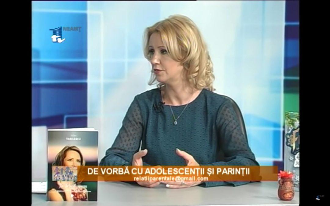 Irina Vasilescu despre Parenting: De vorba cu adolescentii si paritii – 1TV Neamt