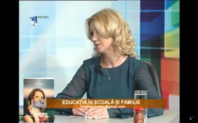 Irina Vasilescu despre Parenting: Educatia in scoala si in familie – 1TV Neamt