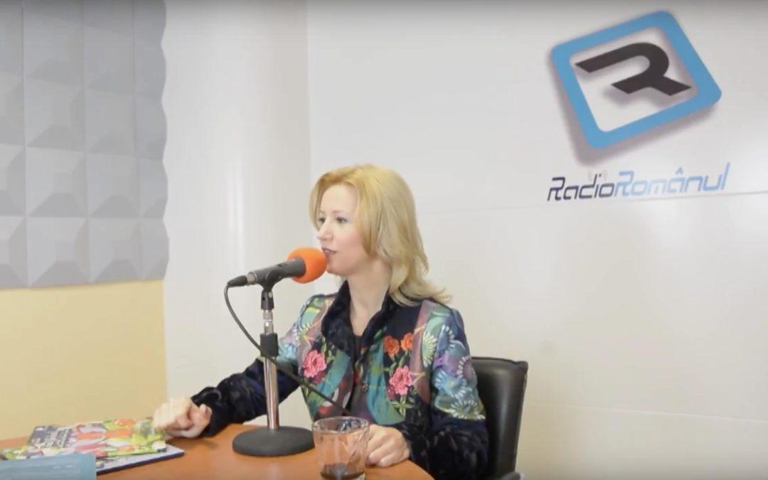 Irina Vasilescu la Radio Romanul: Despre carti si fericire